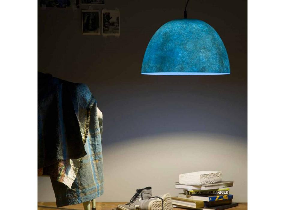 Lampada di design a sospensione In-es.artdesign H2o Nebulite colorata