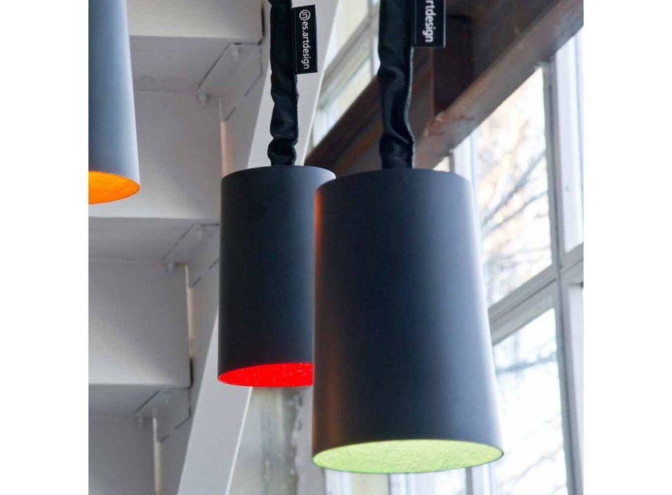 Lampada di design a sospensione In-es.artdesign Paint Lavagna resina