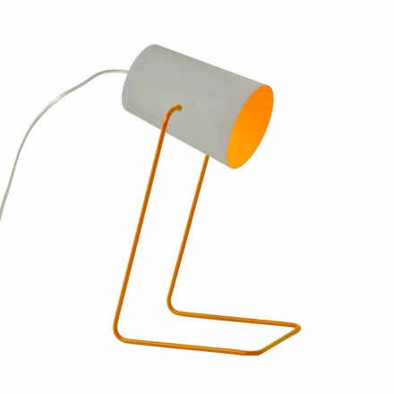 Lampada di design da tavolo In-es.artdesign Paint T effetto cemento