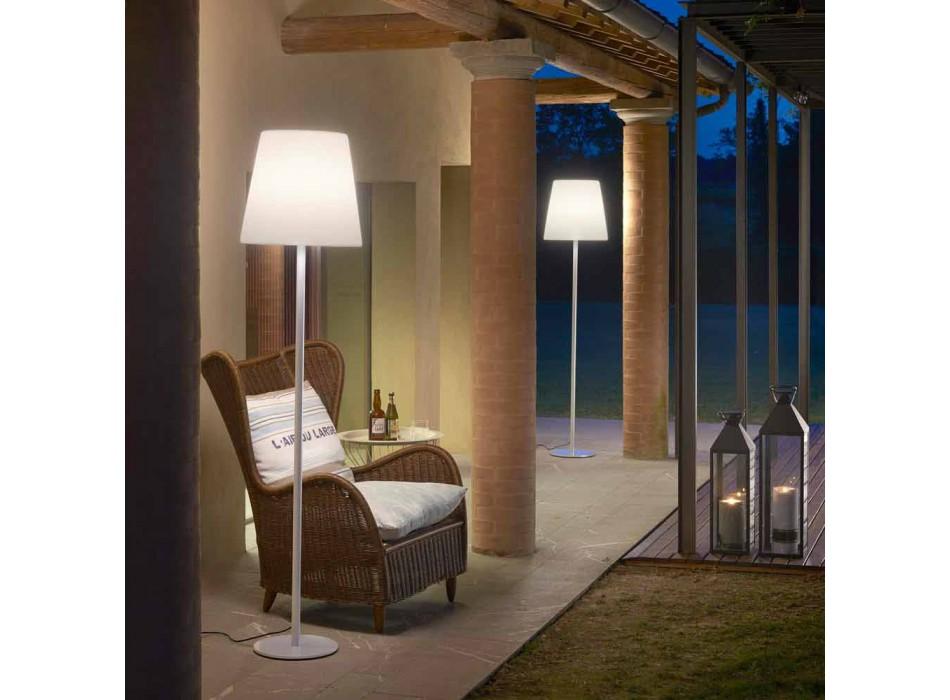 Lampada di design da terra Slide Ali Baba Steel metallo made in Italy
