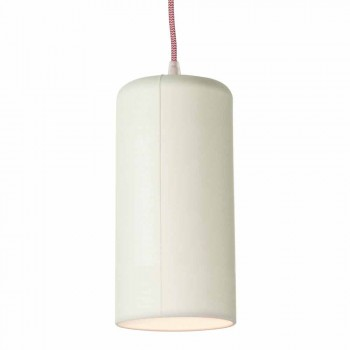Lampada di design sospesa In-es.artdesign Candle 1 in colorata laprene