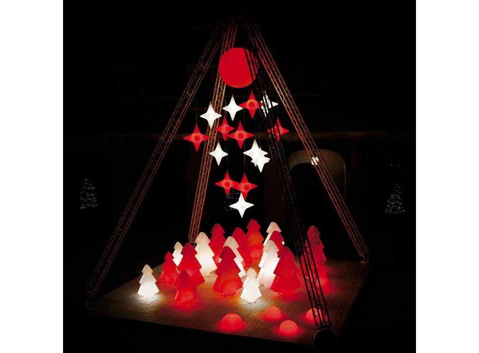 Lampada esterno decorativa Slide Lightree albero di natale made Italy