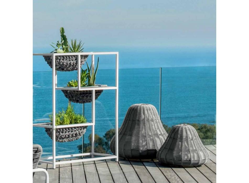 Lampada grande di design Jackie Talenti da giardino in corda sintetica