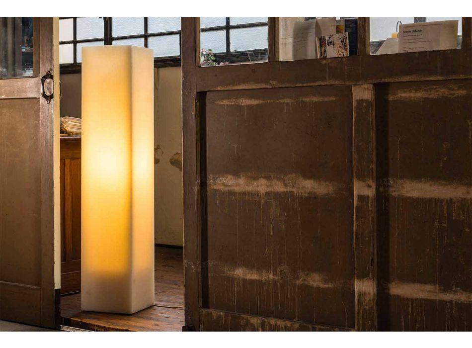 Lampada in Cera Effetto Graffiato Alta e di Design Made in Italy - Dalila