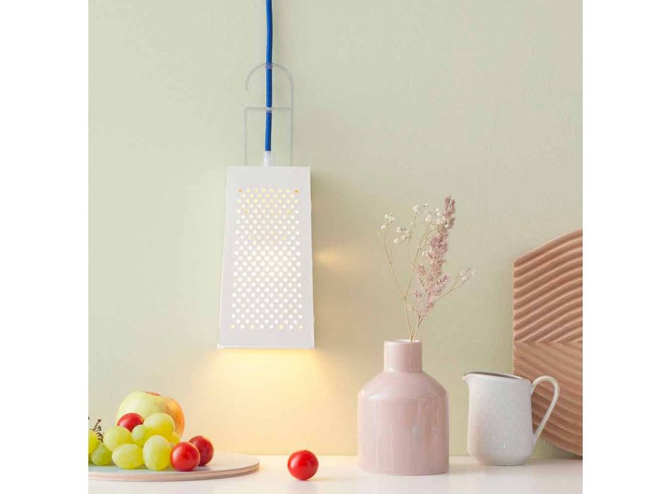 Lampada in laprene da tavolo In-es.artdesign Cacio & Pepe moderna