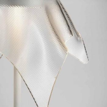 Lampada LED in Metallo Colorato e Plexiglass Prismatico Trasparente - Tagalong
