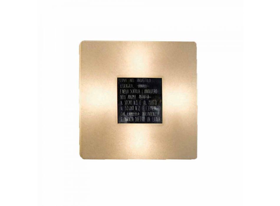 Lampada moderna a muro In-es.artdesign Fragments 3 di design nebulite