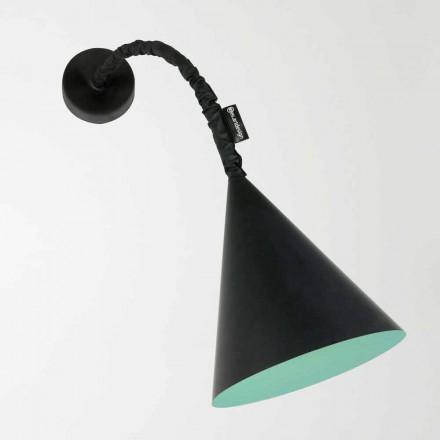 Lampada moderna a muro In-es.artdesign Jazz a Lavagna in resina