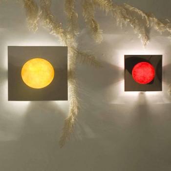 Lampada moderna a muro In-es.artdesign Washmachine in nebulite