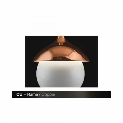 Lampada moderna a sospensione in ceramica I Lustri 9