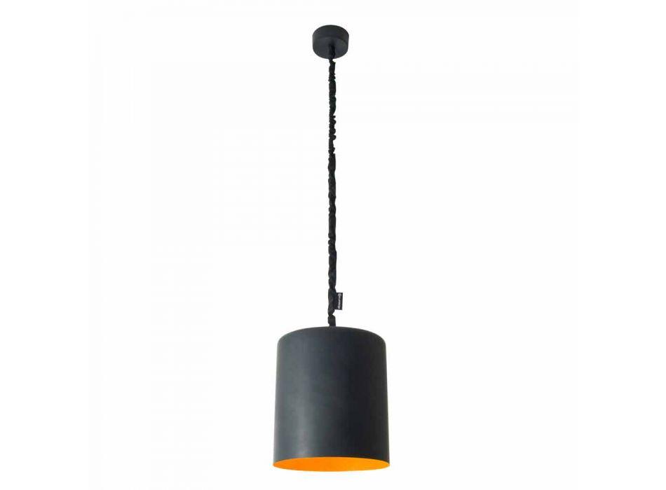 Lampada moderna a sospensione In-es.artdesign Bin Lavagna in resina