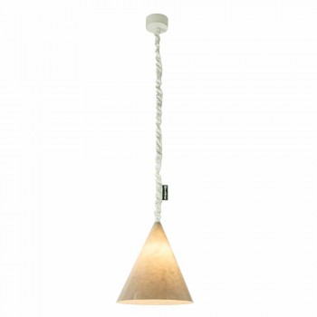 Lampada moderna a sospensione In-es.artdesign Jazz Nebula in nebulite