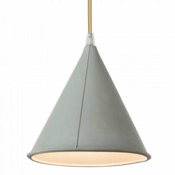 Lampada moderna a sospensione In-es.artdesign Pop 2 laprene colorata