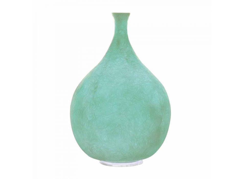 Lampada moderna da tavolo In-es.artdesign Luce Liquida2 in nebulite