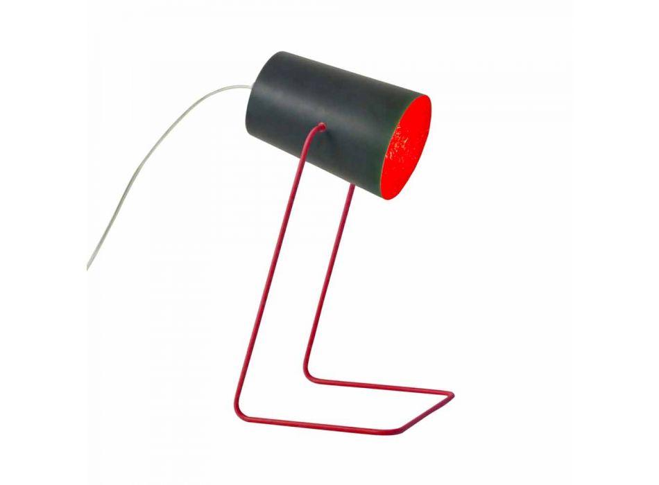 Lampada moderna da tavolo In-es.artdesign Paint T effetto lavagna