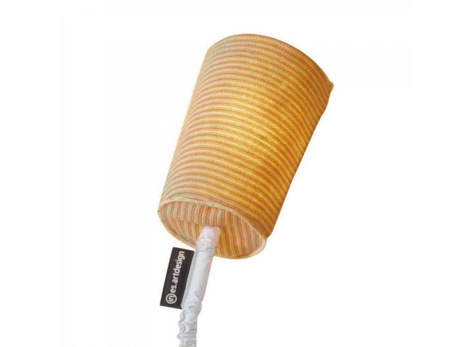 Lampada moderna da tavolo In-es.artdesign Paint T Stripe in lana