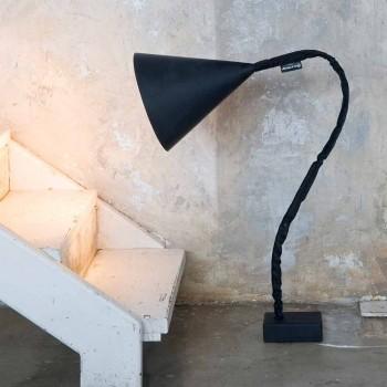 Lampada moderna da terra In-es.artdesign Flower Lavagna in resina