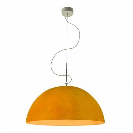 Lampada moderna In-es.artdesign Mezza Luna Nebulite a sospensione