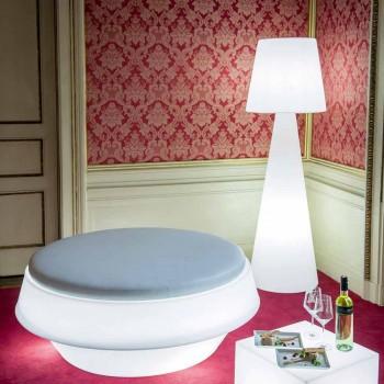 Lampada moderna per esterno Slide Pivot bianco luminoso fatta Italia