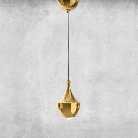 Lampada a LED Sospesa in Ceramica Made in Italy  - Lustrini L3 Aldo Bernardi