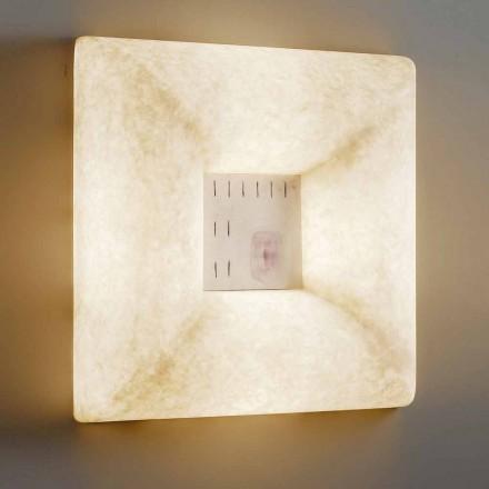 Lampada nebulite bianca a muro In-es.artdesign Dada Luna 1 di design