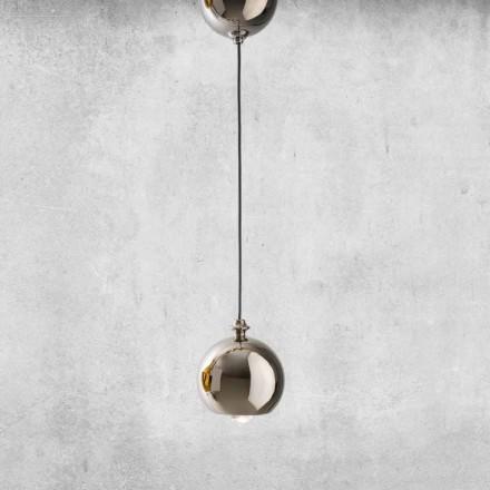 Lampada Sospensa Moderna in Ceramica Made in Italy– Lustrini L5 Aldo Berrnardi