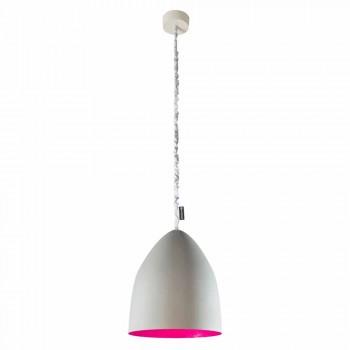 Lampada sospensione In-es.artdesign Flower S Cemento finitura cemento
