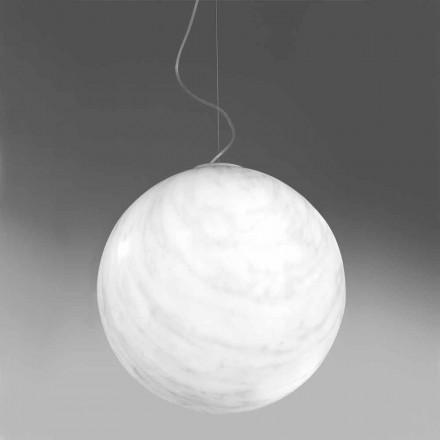 Lampada a sospensione moderna a sfera in polietilene Slide Mineral
