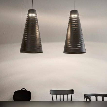 Lampada Sospesa di Design in Acciaio Made in Italy – Cervino Aldo Bernardi