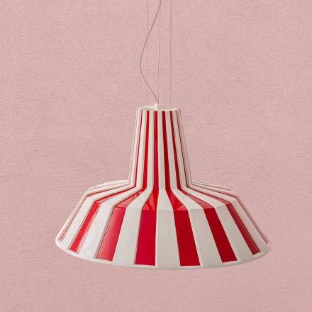 Lampada Sospesa Design Moderno in Ceramica – Budin Aldo Bernardi