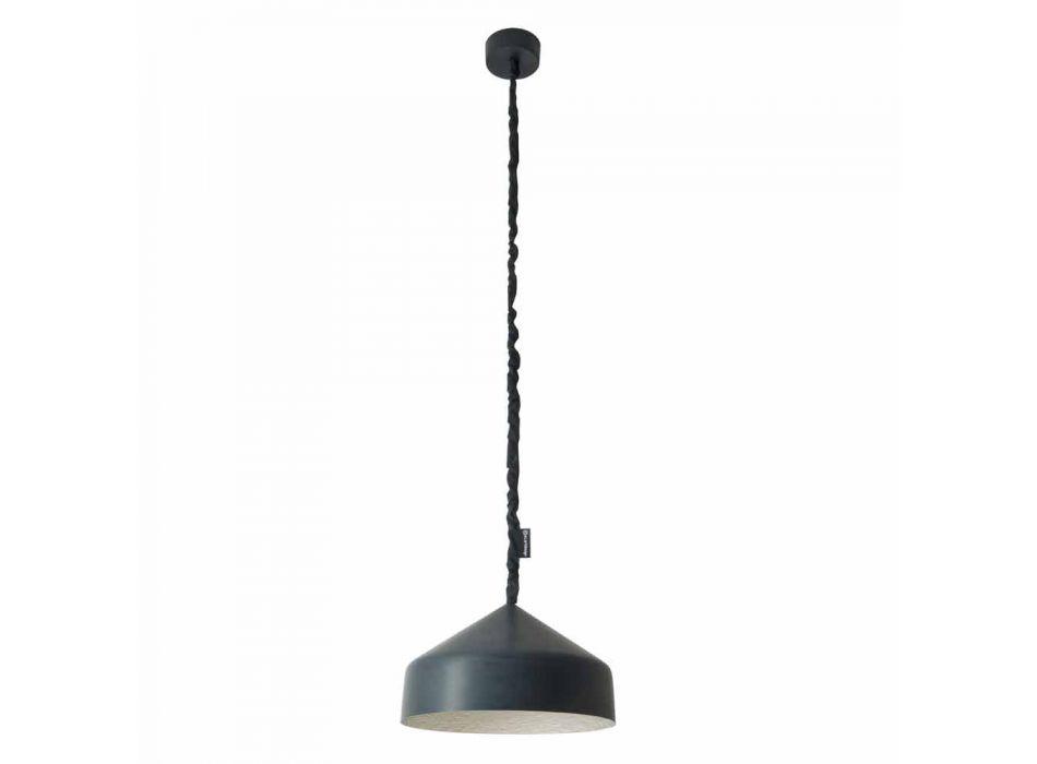 Lampada sospesa di design In-es.artdesign Cyrcus Lavagna in resina