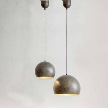 Lampada Sospesa in Acciaio Diametro 300 o 400 mm – Materia Aldo Bernardi