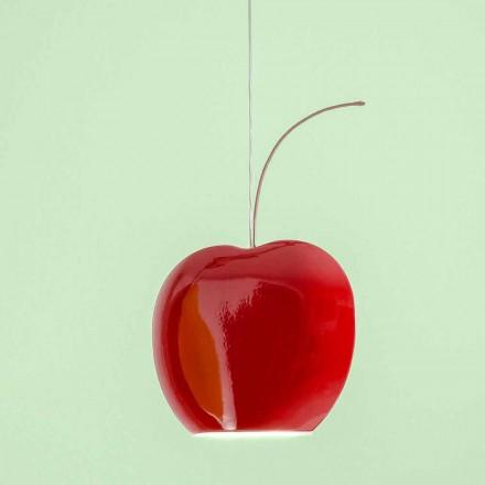 Lampada Sospesa in Ceramica a Forma di Ciliegia – Fruits Aldo Bernardi