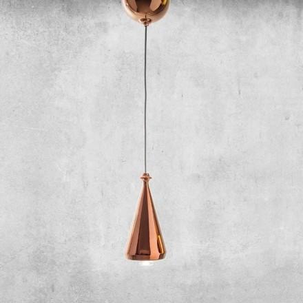 Lampada LED Sospesa in Ceramica di Design – Lustrini L2 Aldo Bernardi