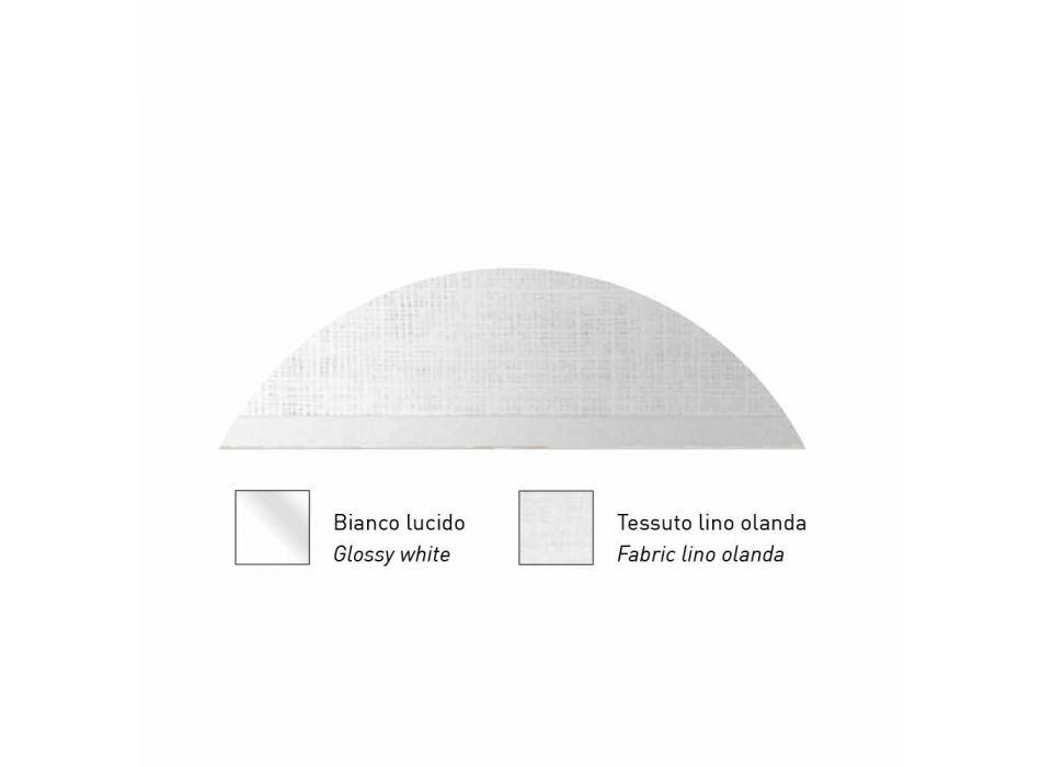 Lampada Sospesa in Metallo con Paralume in Rete o Lino Made in Italy - Jump