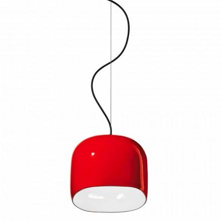 Lampada Sospesa in Stile Moderno in Ceramica Made in Italy – Ferroluce Ayrton