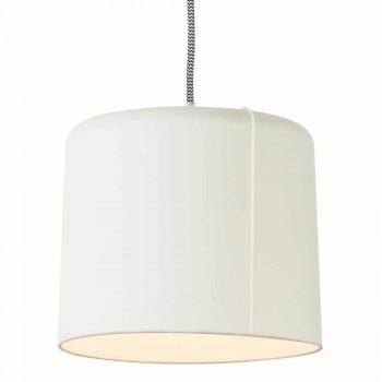 Lampada sospesa moderna In-es.artdesign Candle 2 in colorata laprene