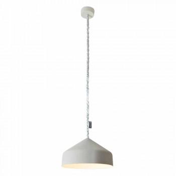 Lampada sospesa moderna In-es.artdesign Cyrcus Cemento verniciata