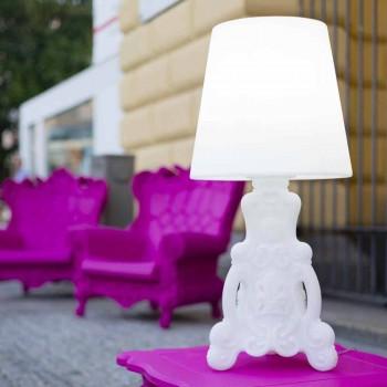 Lampada tavolo Slide Lady of Love di design luminosa made in Italy