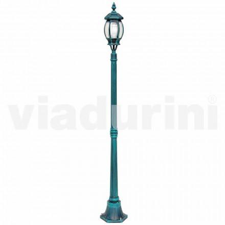 Lampione da esterno in alluminio pressofuso made in Italy, Anika