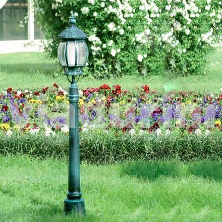 Lampione da giardino in alluminio pressofuso made in Italy, Anika