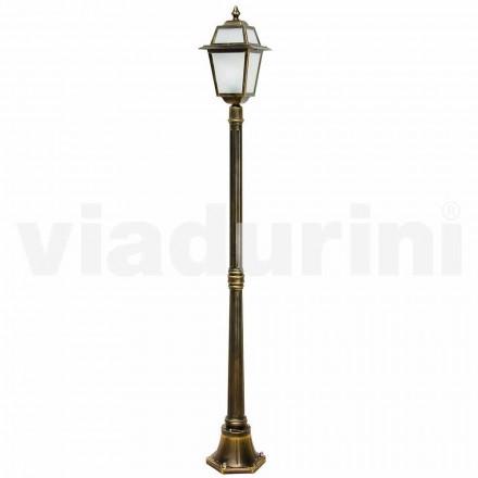 Lampione per esterno classico in alluminio fatto in Italia, Kristel