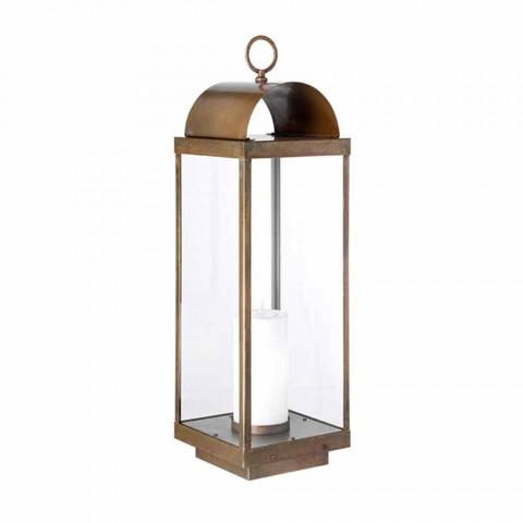 Lanterne Da Esterno Moderne.Lanterna Da Giardino Da Terra Con Candela Il Fanale