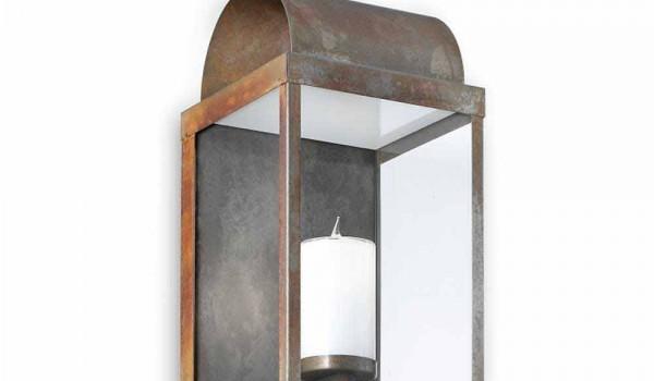 Plafoniera Ottone Esterno : Lanterna da parete per esterno in ferro o ottone il fanale