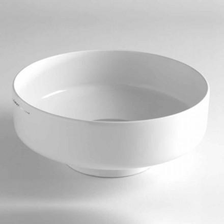 Lavabo Bagno da Appoggio a Ciotola Vintage in Ceramica Made in Italy – Gabriel