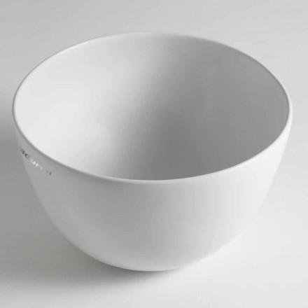 Lavabo da Appoggio a Ciotola Moderno in Ceramica Made in Italy – Domenico