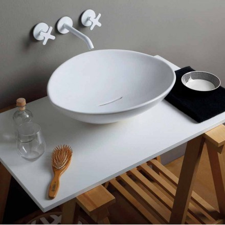 Lavabo da appoggio design di tendenza in ceramica made Italy Animals