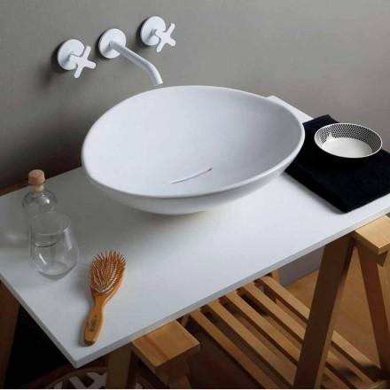 Lavabo da appoggio design di tendenza in ceramica made Italy Animals