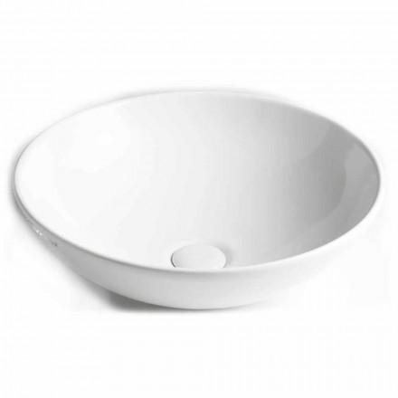 Lavabo da Bagno a Ciotola da Appoggio in Ceramica Made in Italy – Pimpi