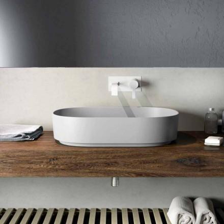 Lavabo da appoggio di design made in Italy, Formicola